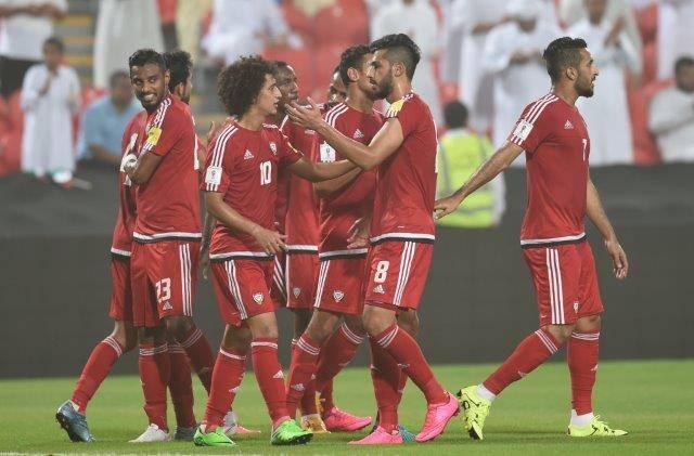 المنتخب الإماراتي فرحة
