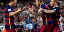 بالصور والفيديو : برشلونة يستمر في الصدارة بفوز علي ليفانتي