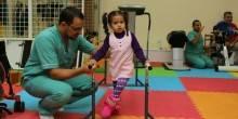 أكثر من 7000 جلسة علاج طبيعي للأطفال ذوي الإعاقة بالشارقة