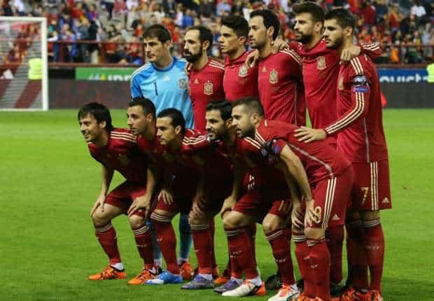 المنتخب الاسبانى
