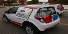 دومينوز تطلق سيارات جديدة لتحسين طلبات توصيل البيتزا