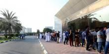 بالصور : جماهير الهلال توافدت بكثرة علي منافذ بيع تذاكر مباراتهم أمام الأهلي في أبطال آسيا