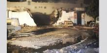 حريق يدمر مصنع للأخشاب في عجمان