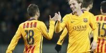 بالصور والفيديو : برشلونة في صدارة الأبطال بفوز علي باتي بوريسوف البيلاروسي