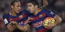 بالصور والفيديو : برشلونة يحقق الفوز علي إيبار بهاتريك سواريز