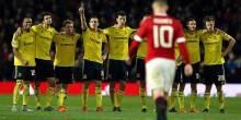 بالفيديو والصور : ميدلسبره يقصي مانشستر يونايتد بركلات الترجيح في كأس الرابطة
