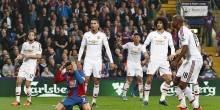 بالصور : مانشستر يونايتد يفقد المركز الثالث بتعادل سلبي أمام كريستال بالاس