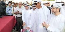 دبي: تدشين عملية رفع الجسر العلوي للاطار