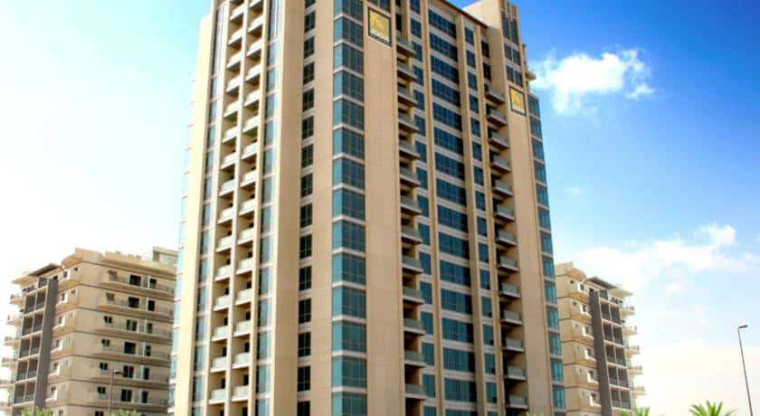 أبيدوس للشقق الفندقية دبي لاند