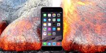 بالفيديو: هل يقاوم آيفون 6 أس حمم البراكين؟