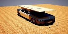 لبناني يبتكر جراج متنقل يحمي السيارات من حرارة الشمس في الإمارات