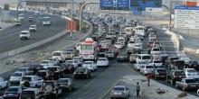 إغلاق حارتين فوق جسر البديع باتجاه دبي