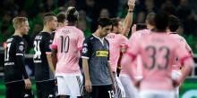 التعادل يحسم مباراة اليوفنتوس امام مونشنغلادباخ في أبطال أوروبا