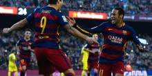 بالصور والفيديو : برشلونة ينفرد بالصدارة مؤقتا بفوز نظيف علي فياريال