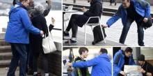 بريطاني يسرق 10 أشخاص في 4 ساعات أمام الشرطة