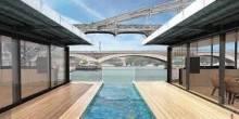 تدشين أول فندق عائم في باريس بتكلفة 11 مليون يورو