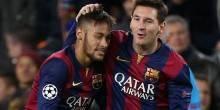 برشلونة يتوصل لإتفاق مع نيمار ليقطع إشاعات رحيله