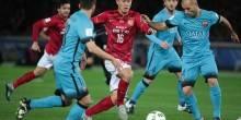 بالصور والفيديو: برشلونة يقضي علي جوانجزو ايفرجراند الصيني في كأس العالم للاندية