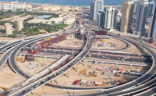 طرق-دبي-تنفّذ-مداخل-بلو-ووترز-94477