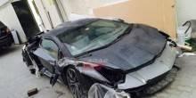 إماراتي يدفع 100 ألف دولار ليشتري سيارة لامبورغيني محطمة!