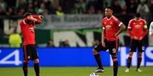 بالفيديو والصور: مانشستر يونايتد يغادر الأبطال بسقوط أمام فولفسبورج