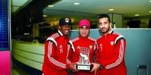 مدرب الأبيض الإماراتي يهنئ أحمد خليل علي لقب الأفضل آسيويا