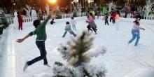 شاهد بالصور مهرجان الشتاء في حديقة المشرف المركزية بأبوظبي