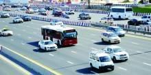 دبي تعتمد تقنية جديدة لمراقبة سرعة الحافلات