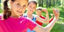 أهمية الرياضة لجسم الأطفال