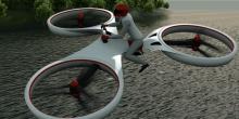 Flike أول طائرة بدون طيار يمكن للإنسان ركوبها في العالم