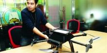 مبتكرون إماراتيون يطورن طائرة بدون طيار لفائدة الدفاع المدني