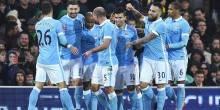 بالصور والفيديو: مانشستر سيتي للدور 32 بفوز علي نوريتش سيتي
