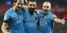 بالصور والفيديو: برشلونة يقترب من المربع الذهبي بفوز علي أتلتيك بيلباو