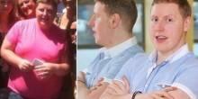 بريطاني تجبره صورته على خسارة 40 كم من وزنه