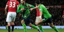 بالفيديو والصور: ساوثهامبتون يسقط مانشستر يونايتد للمرة السادسة هذا الموسم