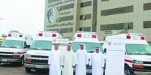 المواصلات توفر 124 سيارة إسعاف للمؤسسات الطبية