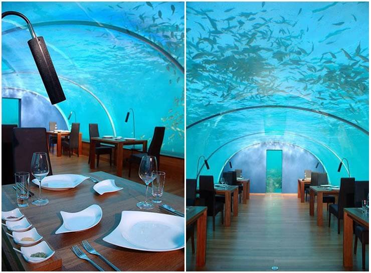 First Ever Undersea Restaurant Ithaa 12