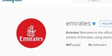 مليون متابع لطيران الإمارات على إنستقرام