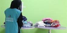 """طالبات في كلية التقنية يطلقن حملة """"دفء"""" لصالح اللاجئين السوريين"""