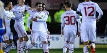 بالفيديو والصور: مانشستر يونايتد يتأهل لدور الـ 8 بفوز نظيف علي شروزبري تاون