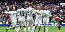 بالفيديو والصور: ريال مدريد يقتنص الوصافة برباعية علي أتلتيك بيلباو