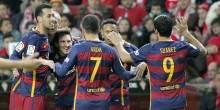 بالفيديو والصور : برشلونة يبتعد بالصدارة بفوز علي سبورتينغ خيخون