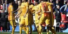 بالصور والفيديو: برشلونة ينفرد بالصدارة بفوز علي ليفانتي