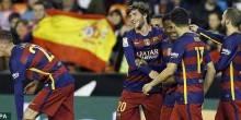 بالفيديو والصور: برشلونة لنهائي كأس الملك بعد تعادل إيجابي مع فالنسيا