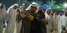 """تعرف على المرأة التي التقطت """"سيلفي"""" مع الشيخ محمد بن زايد"""