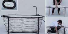 حوض استحمام Xtend قابل للطي و يمكن نقله!