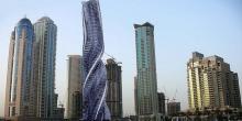 فيديو يظهر البرج الديناميكي الدوار الذي سيكون من أهم أبراج دبي بحلول 2020