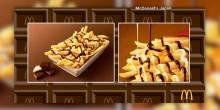 ماكدونالدز اليابان تقدم طبق بطاطس بالشيكولاته