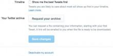 تويتر يغير خوارزمية عرض التغريدات بحسب الأفضلية