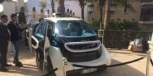 سيارة ذكية تركن نفسها ذاتيًا في قمة دبي العالمية